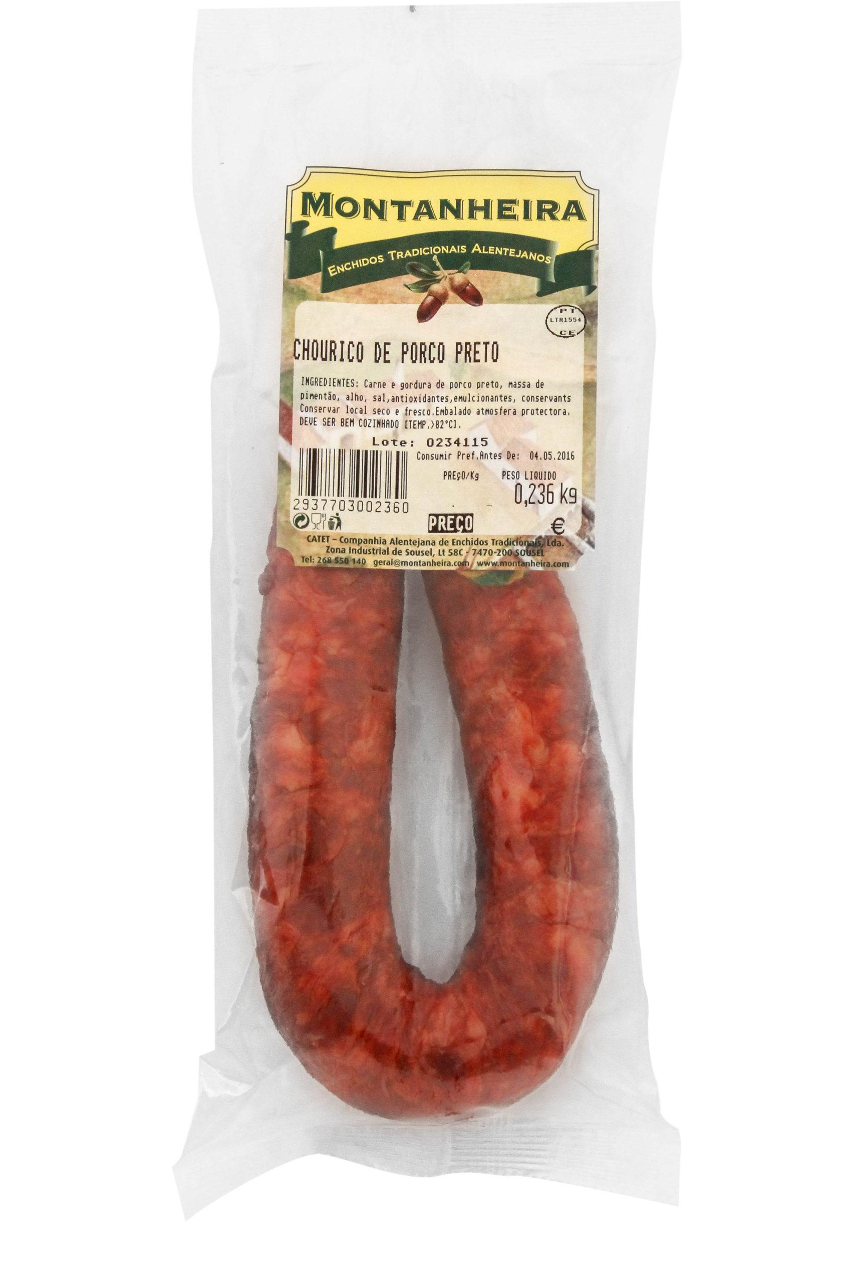 """""""Chourico"""" Schwarzes Schweinefleisch"""